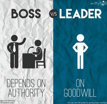 8 Perbedaan Antara Boss dan Leader 1